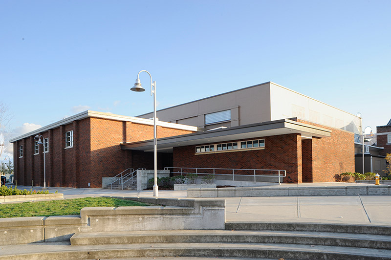 Mount Vernon High School Main Gym And Field House Renovation   HKP  Architects