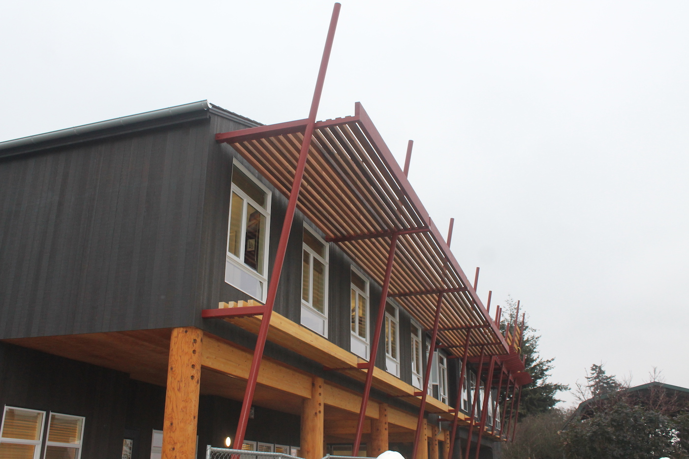 Image of the Swinomish Dental Clinic Expansion Exterior