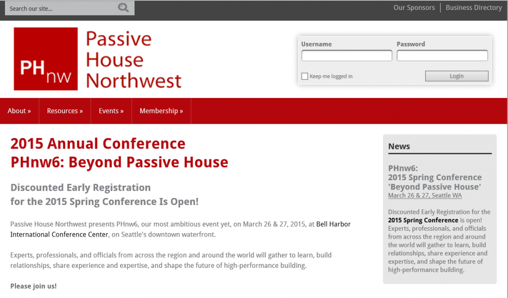 PHNW Conference 2015